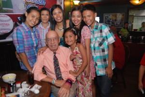 The family members